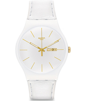 White Character 41mm New Gent Watch