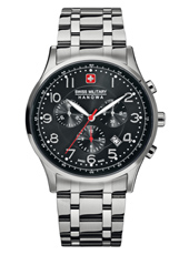 Patriot 41.50mm Steel Swiss Made Chronograph with Date