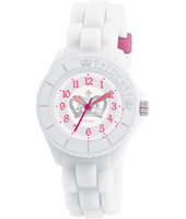 White Princess White Girl's Watch, Crown Print