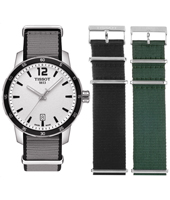 Quickster 40mm 10 ATM ladies watch on NATO strap