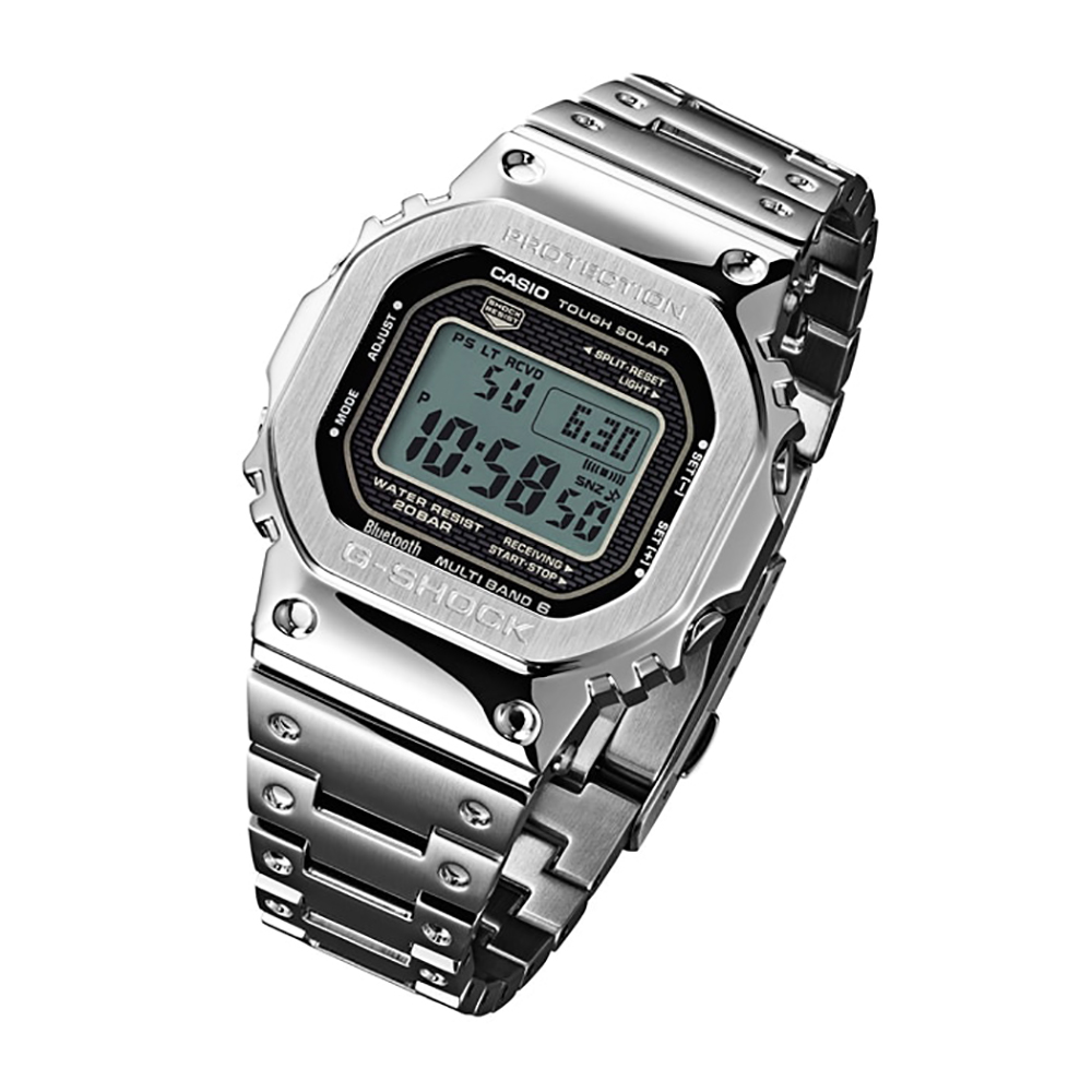 17fee21477a All Steel Digital Watch with Smartphone Link Colecção Primavera Verão G- Shock