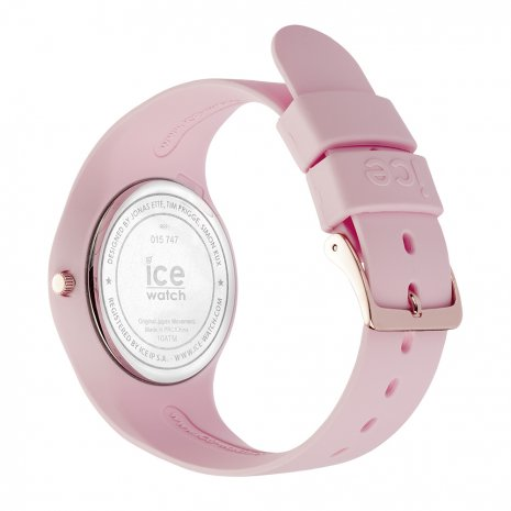 Pink & Rose Gold Silicone Watch Size Medium Colecção Primavera/Verão Ice-Watch